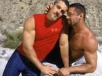 Colton Ford (on the right) and Blake Harper