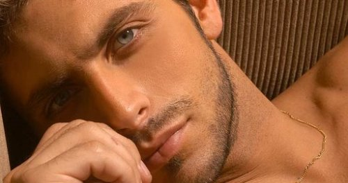 Henri Castelli and his beautiful eyes