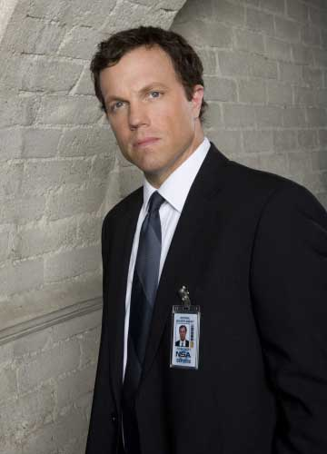 Adam Baldwin as Casey on Chuck