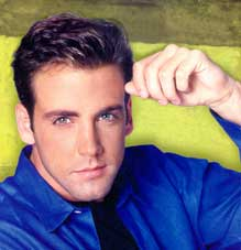 Carlos Ponce in a Blue Shirt