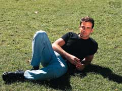 Carlos Ponce on the Grass