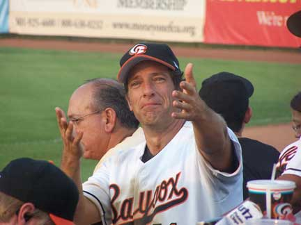 Mike Rowe at the Baysox
