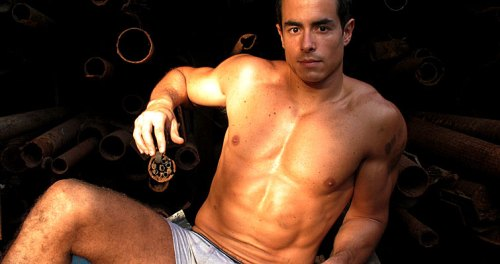 Felipe Folgosi in inappropriateclothing