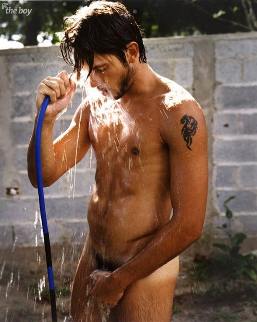Raphael Laus and his hose