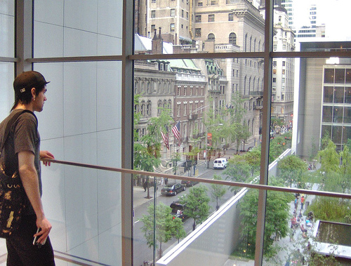 Bystander at MOMA