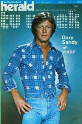 Gary Sandy from WKRP in Cincinatti