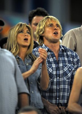 Owen Wilson with Jennifer Anniston