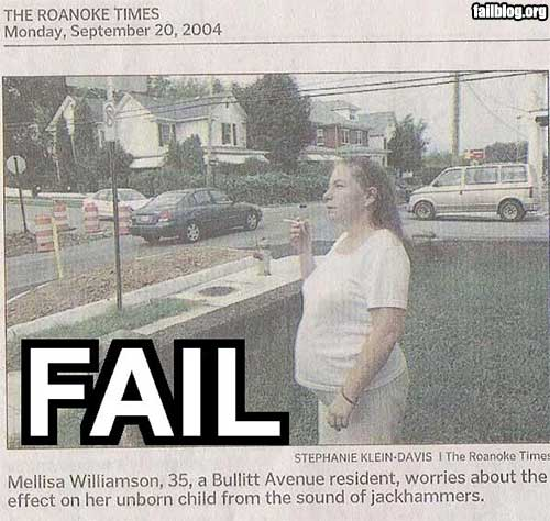 Pregnancy Fail
