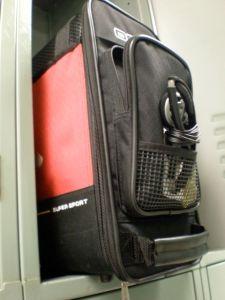 My Ogio locker bag - it's great!
