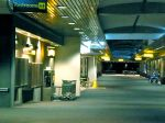 BWI sure is deserted at night, and rightly so!