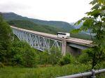 Bridge along Spirit Lake Highway to Mt. St. Helens