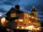 Christmassy lights in Leavenworth