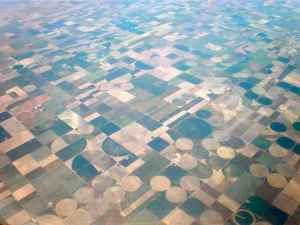 Crop irrigation in Texas