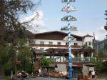 Maypole and hotel